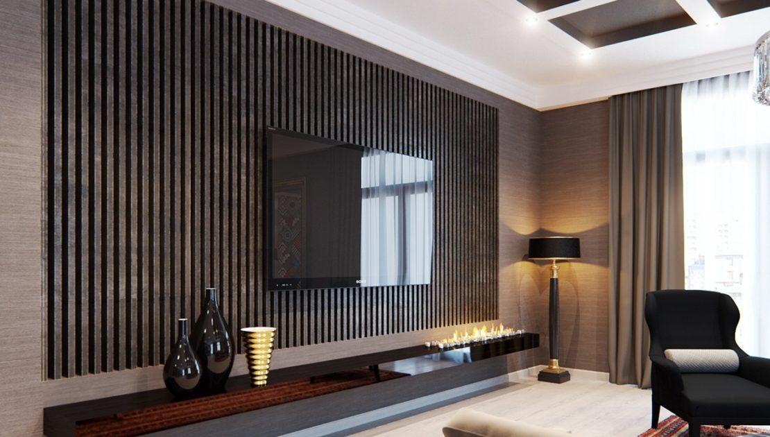 Деревянные планки в интерьере: отделка, декорирование, зонирование