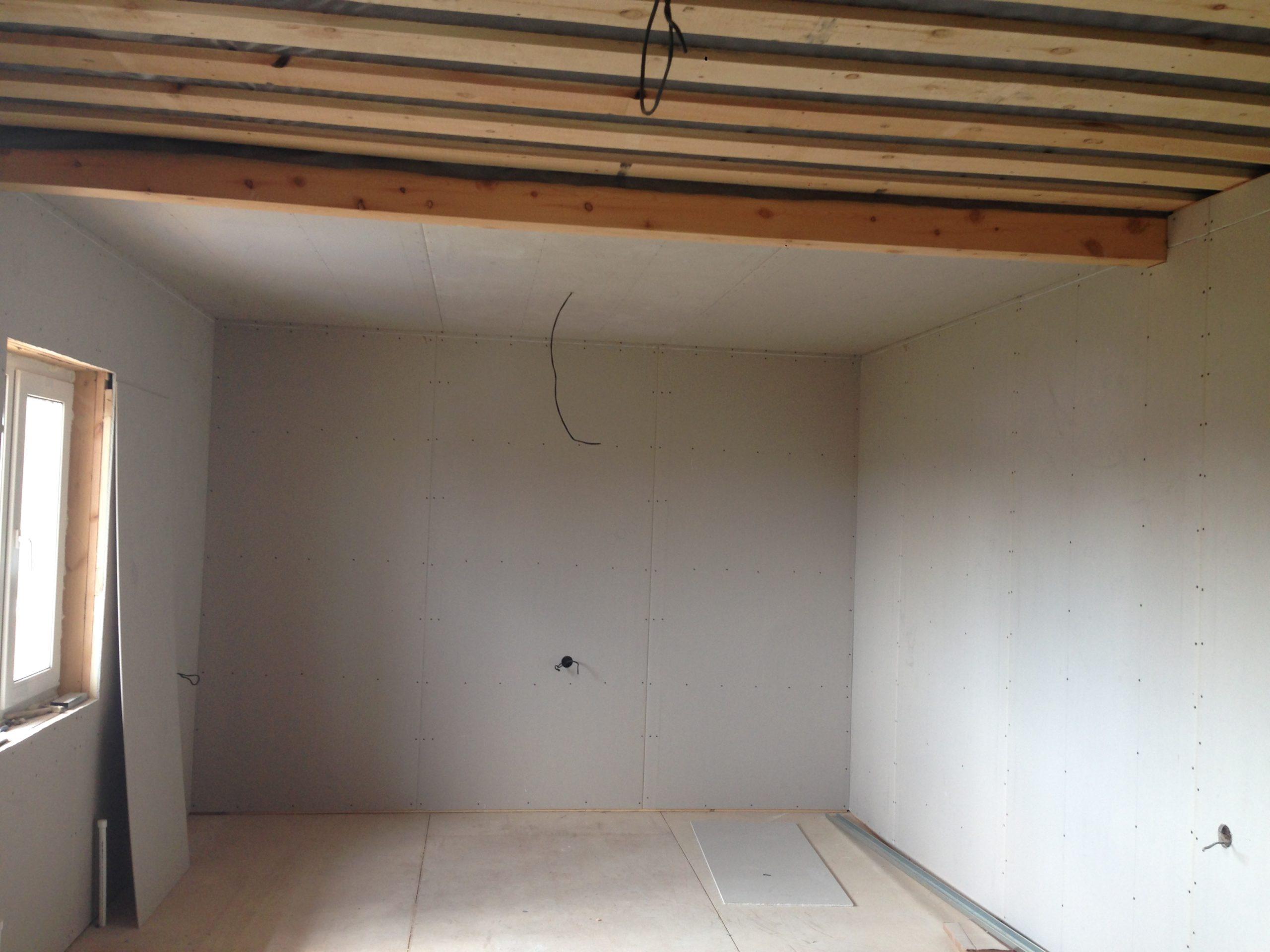Потолок в частном доме из ГКЛ