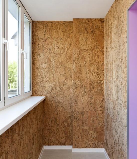 Отделка стен балкона: 12 вариантов обшивки
