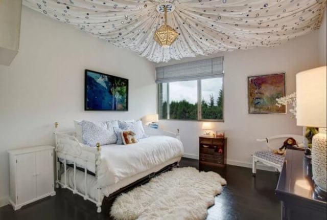 потолок из текстиля