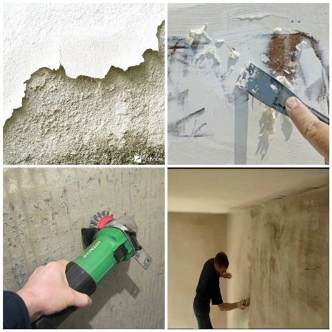 подготовка стен перед тем как оштукатурить стены