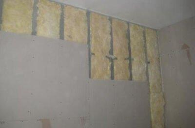 стекловата - утеплитель для внутренних стен