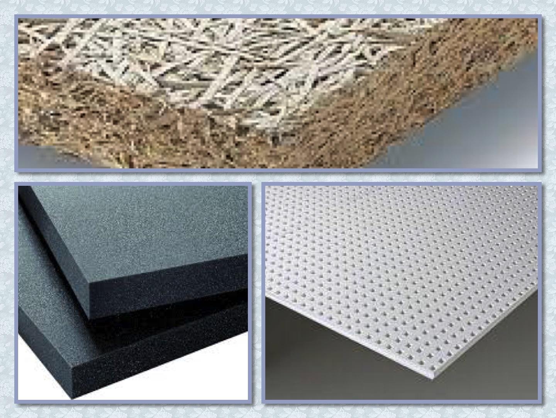 акустические плиты для звукоизоляции