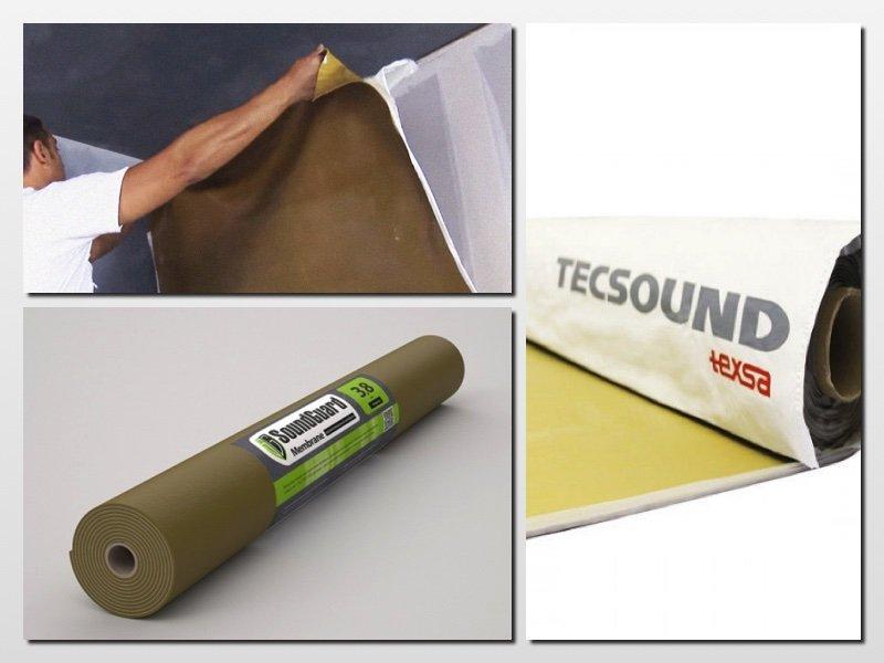 звукопоглощающая мембрана для стен